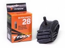 TRIX, Камера 28*1,75 автониппель AV, бутил