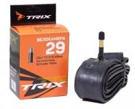 TRIX, Камера 29x1,75-2,10 AV автониппель, Schrader 48мм, бутил
