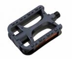TRIX, Педали детские MX-P613 (12 mm) ось 12 мм пластик 92х70mm, с отражателями