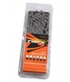 TRIX, Цепь на 6-7 скоростей, 112 зв., пин 7,7 мм, коричневая T30