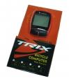 TRIX, Велокомпьютер проводной, 16 функций, цвет красный