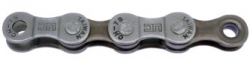 "MAYA цепь (UC51) 7 sp. (116 звеньев,Цвет:Dark Silver/Brown) ,длина пина 7,3 мм. UC51  (1/2""X3/32"") 7"