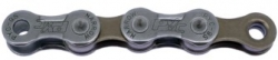 Цепь MAYA (P9003) 9 sp. (116 звеньев,Цвет:Dark Silver/Brown) с замком,длина пина 6,5 мм. P9003  (1/2
