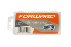 Велоаптечка Forward, 6 самоклеющихся заплаток, в пластиковой коробке