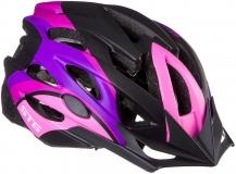 Шлем STG, модель MV29-A, размер M(55-58)cm розово/фиолет/черн, с фикс застежкой