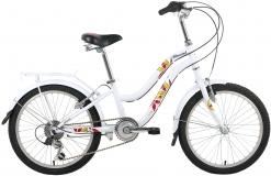 Велосипед 20 FORWARD EVIA 20 10,5рост 2017 белый