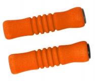 Грипсы Vinca sport, пенополиуретановые, 125мм, оражевые, H-G 22 orange