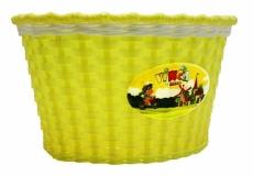 Корзинка детская на руль 16, желтая, 240x165x155мм, Vinca Sport, P04 Travellor