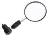 Vinca Sport, Зеркало параболическое с торцевым креплением, диаметр зеркала 50мм VM 06