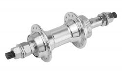 SHUNFENG, Втулка задняя под трещотку, алюм., 36H, ось 3/8''х135x175 мм, гайки, SF-A201R silver