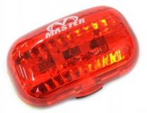 MASTER, Задний фонарь QL-88R красная линза, диоды, 2 режима работы