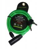 Vinca Sport, Велозамок 8*1200мм, зеленый, VS 102.102 green