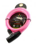 Vinca Sport, Велозамок 8*1200мм, розовый, VS 102.102 pink