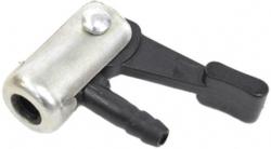 Зажим для шланга авто алюминий/пластик A2