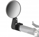 Зеркало заднего вида DX-2002V, диаметр 75 мм , длина 125 мм ,крепление на липучке поверх грипс