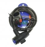 SAIGUAN, Велозамок 12*1000 мм, ZX2141, ключ